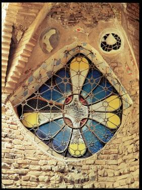 Stained Glass Window by Antoni Gaudí