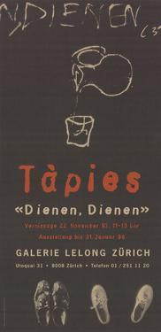 Dienen, Dienen by Antoni Tapies