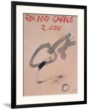 Roland Garros by Antoni Tapies