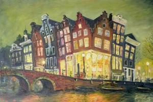 Bright Lights, Amsterdam, 2000 by Antonia Myatt