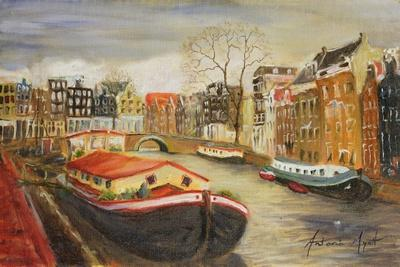 Red House Boat, Amsterdam, 1999