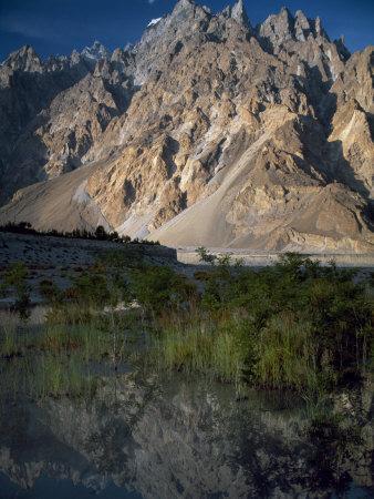 Cathedral Spire Mountains Passu in Northern Pakistan