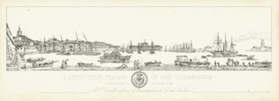 Antique Seaport I by Antonio Aquaroni