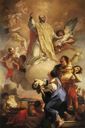 Glory of St Ignatius, 1721
