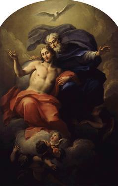 The Holy Trinity by Antonio Balestra