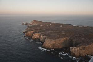 Aerial Photo of Anacapa, Channel Islands National Park, California, United States of America by Antonio Busiello