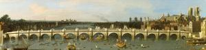 Westminster Bridge, London by Antonio Canaletto