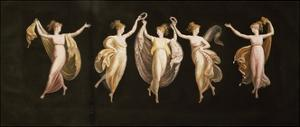Dancers with Veils and Crowns by Antonio Canova
