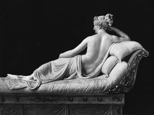 Pauline Bonaparte, Princess Borghese as Venus Triumphant, Rear View, c.1805-08 by Antonio Canova