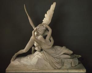 Psyche Ranimee par le Baiser de L'Amour by Antonio Canova