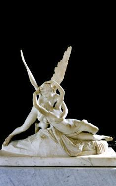 Psyche Revived by the Kiss of Love, 1787 by Antonio Canova
