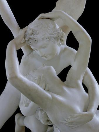 Psyche Revived by the Kiss of Love (Detail)