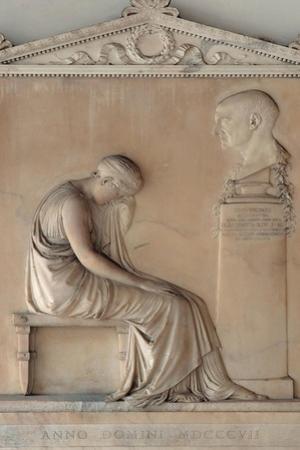 Stone of Giovanni Volpato by Antonio Canova