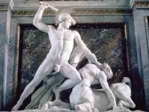Theseus and the Centaur, 1804-1819 by Antonio Canova
