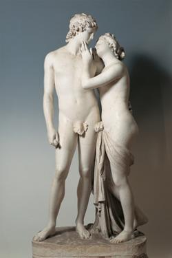 Venus and Adonis by Antonio Canova