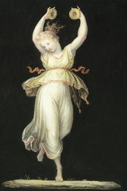 Woman Playing Castanets by Antonio Canova
