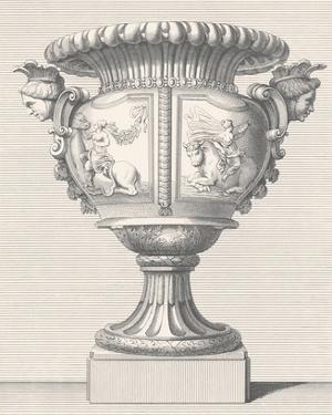 Vase de Marbre I by Antonio Coradini