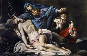 Pietà by Antonio Crespi