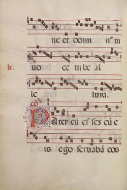 The Gradual. Initial P, C. 1500 by Antonio da Monza