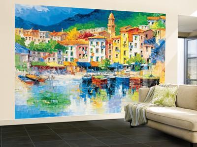 Antonio di Viccaro Riviera Ligure Wall Mural
