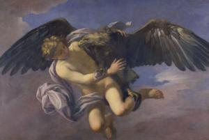 The Abduction of Ganymede by Jupiter Disguised as an Eagle by Antonio Domenico Gabbiani