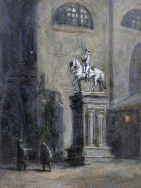 Don Giovanni Invites the Commendatore to Dinner by Antonio Durini