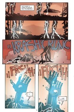 Zombies vs. Robots: No. 10 - Comic Page with Panels by Antonio Fuso