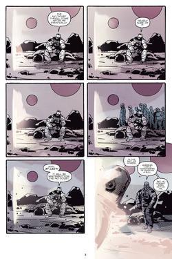 Zombies vs. Robots: No. 8 - Comic Page with Panels by Antonio Fuso