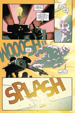 Zombies vs. Robots: No. 9 - Comic Page with Panels by Antonio Fuso