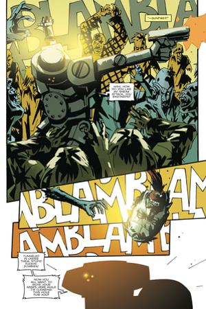 Zombies vs. Robots: No. 9 - Comic Page with Panels by Antonio Fuso