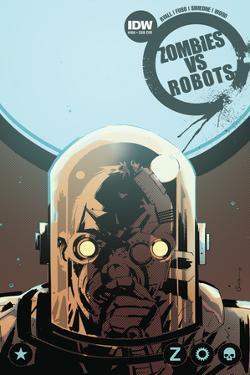 Zombies vs. Robots: No. 9 - Cover Art by Antonio Fuso