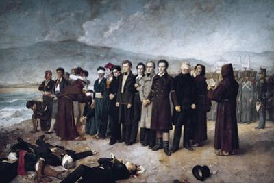 Execution of Jose Maria De Torrijos Y Uriarte, 1931