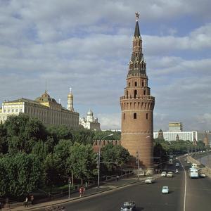 The Kremlin from the South West, 15th Century by Antonio Gislardi