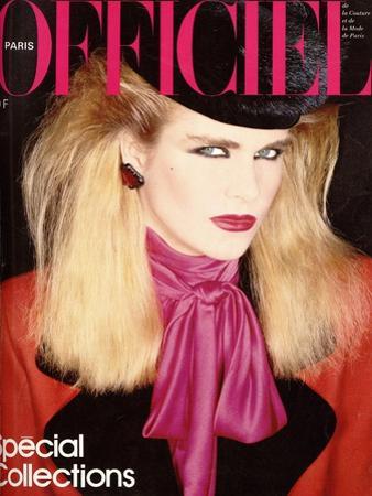 L'Officiel, August 1981 - Chloé pour Karl Lagerfeld