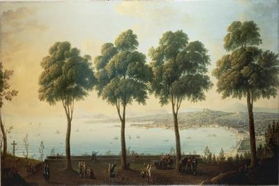 View of the Bay of Naples and the City from the Slopes of Vesuvius