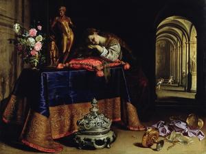 An Allegory of Repentance by Antonio Pereda y Salgado