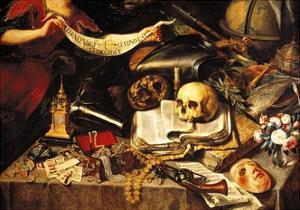 Enlightenment of Life, 1655 by Antonio Pereda y Salgado