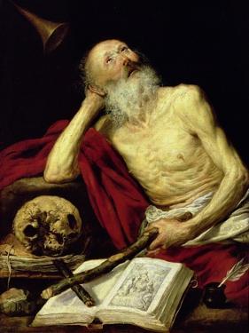 St. Jerome, 1643 by Antonio Pereda y Salgado