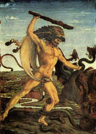 Antonio Pollaiuolo (Hercules and the Hydra) Art Poster Print