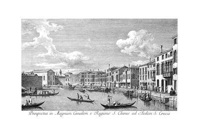 Venice: Chiara Canal, 1735