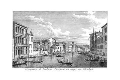 Venice: Grand Canal, 1735