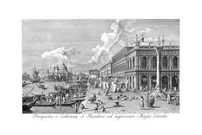 Venice: The Molo, 1735