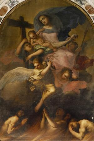 Madonna in Glory with the Child and the Souls of Purgatory, Ca 1700