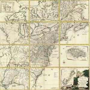 Composite: Colonie Unite dell' America Settentrle, c.1778 by Antonio Zatta