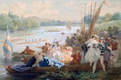 A Regatta at Asnieres During the Second Empire, C1868-1905 by Antony Paul Emile Morlon