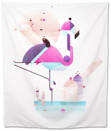 Placido Flamingo by Antony Squizzato