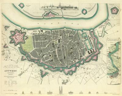 Antwerp, Belgium, c.1832