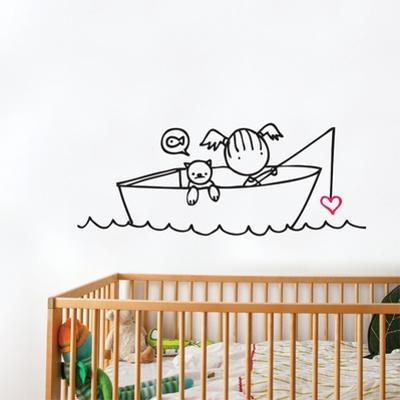 Any Bites? Wall Decal