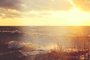 Winter at Lake Ontario by AnyDirectFlight