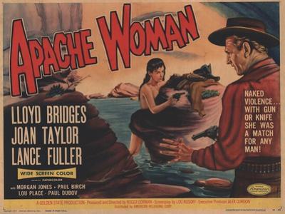 Apache Woman, 1955